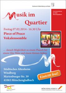 Musik im Quartier Flyer 2014